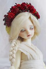 New MSD size headbands (AyuAna) Tags: bjd ball jointed doll dollfie ayuana design minidesign handmade flower headdress crown wreath msd mnf minifee size