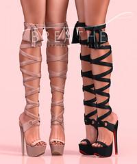 [BREATHE]-Chiko Heels ([Breathe]) Tags: breathe secondlife mesh fameshed maitreya slink belleza playgirl heels