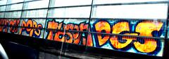 graffiti A10 (wojofoto) Tags: graffiti amsterdam highway snelweg a10 nederland netherland holland wojofoto wolfgangjosten dgs tyson pop pops