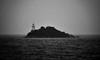 Hell's Gates Lighthouse - Tasmania (Harald Philipp) Tags: bonnettisland tasmania australia strahan ocean sea harbour harbor lighthouse convicts prison roaringforties bw blackandwhite schwarzweiss monochrome macquarieharbour gordonriver slavelabor shipbuilding