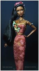 May Flower (FashionDragon) Tags: adelemakeda talkingdrama africanamerican blackbarbie fashionroyalty fashiondoll designerdoll byronlars jasonwu stephenburrows bobmackie integritytoys