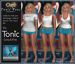 .::Mad Designs::. Tonic Tops (.::Mad Designs::.) Tags: tonic tee tank shorts freebie secondlife sl