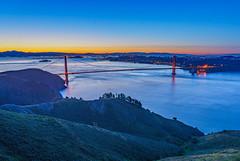 Golden Gate Bridge (M Lang) Tags: landscapes landscape brügge sanfrancisco landschaft goldengate wasser water meer outdoor goldengatebridge bridge sea
