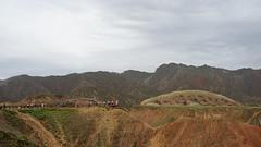 Zhangye Danxia Landform Geopark (hanming_huang) Tags: china gansu zhangye rainbowmountain