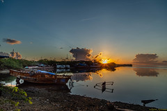 _MG_1716 (waynetywater) Tags: sunrise water sea bay boat blue philippines ocean beach red sky ngc travelworld dawn photography landscape island light nationalgeographic national geographic flickrsbest