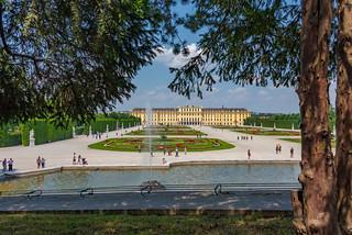 Wien 2017 - Schloss Schönbrunn