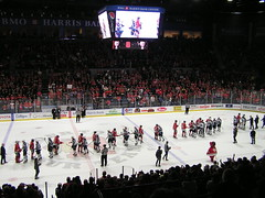 Winning! (Robby Gragg) Tags: rockford icehogs manitoba moose bmo bank harris center