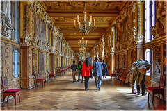 Château de Fontainebleau , Galleria  Francesco I … travel  memories ... (miriam ulivi) Tags: miriamulivi nikond7200 francia fontainbleau châteaudefontainebleau galleriafrancescoi people 7dwf