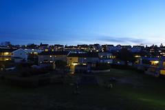 The blue hour in Oslo (jonarnefoss2013) Tags: thebluehour blåtimen høyenhall norway oslo