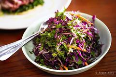 20180510-74-Red slaw and fennel salad at Kensington Street Social in Sydney (Roger T Wong) Tags: 2018 australia iv kensingtonstreetsocial metabones nsw newsouthwales rogertwong sigma50macro sigma50mmf28exdgmacro smartadapter sonya7iii sonyalpha7iii sonyilce7m3 sydney food restaurant salad