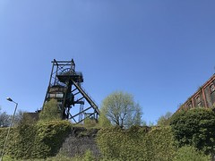 South Wales trip to Ystrad Mynach and Penallta Colliery (Watty rugby) Tags: punk penallta colliery ystradmynach triumph wales