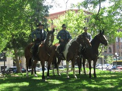St Paul Police Mounted Patrol (EKL1475) Tags: st paul police mounted horses memorial day