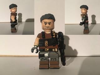 Custom LEGO Cable: Deadpool 2