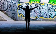 Metal Girl (hakandincer1) Tags: metal metalhead metalgirl girl street mosh devil graffity black colour tunnel
