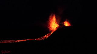 Eruption piton de la fournaise Septembre 2016
