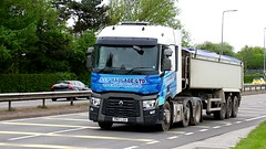 PN17 LGA (Martin's Online Photography) Tags: renault seriest truck wagon lorry vehicle freight haulage commercial transport a580 leigh lancashire tipper nikon nikond7200