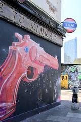 East life (soleneelle) Tags: east london shoreditch market green blue weather street art paint
