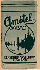 de stad Amsterdam 1923 adv Amstel cacao (janwillemsen) Tags: advertising amsterdam 1923 magazineillustration