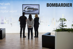 Bombardier's battery bridging solution on display
