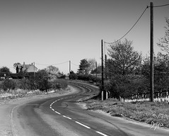 Curves (DomWLive) Tags: spring countydurham road highhesleden curves northeastengland may monotone blackandwhite blackhallcolliery england unitedkingdom gb