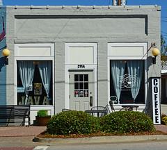Coffee (davidwilliamreed) Tags: javahouse coffeeshop shopwindows storefront building harlemga columbiacounty