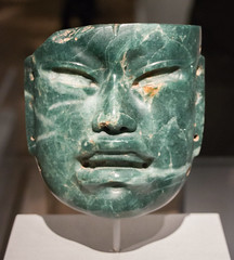 IMG_1752 (jaglazier) Tags: 2018 32518 900bc400bc adults archaeologicalmuseum artmuseums boys crafts goldenkingdomsluxuryandlegacyintheancientamericas gravegoods march masks men mesoamerican metropolitanmuseum mexican mexico museums newyork offerings olmec precolumbian religion rituals specialexhibits stoneworking usa veracruz archaeology art burialgoods copyright2018jamesaglazier funerary jadeite sculpture unitedstates
