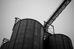 start_food_x86.exe (Hasenaru) Tags: silo automatic industrial industrialisation bw food automatisation storage agricultural