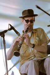 Craig Flory of Tuba Skinny at the New Orleans Jazz and Heritage Festival on Sunday, April 29, 2018