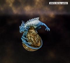 Gale Force 9 Behir (whitemetalgames.com) Tags: behir dd dungeons dragons monster gale force nine 9 huge blue dragon spawn lightning drake summoned 000wmgwhitemetalgameshobbycommissionpaintedpaintingserviceservicesraleighnc hobby miniatures knightdale nc north carolina