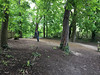 The lake's over there (jovike) Tags: alexandrapalace espe london park tree woman