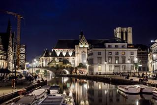 Sint-Michielskerk, Gent, Belgium
