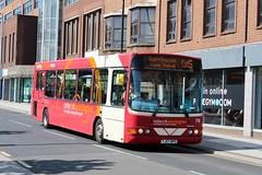 Warrington's Own Buses YJ57BPO (Mike McNiven) Tags: warrington warringtonsownbuses networkwarrington altrincham interchange wright cadet cheshirecat cat5 lymm sunny