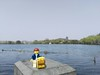 The Travels of badger - West Lake in Hangzhou (enigmabadger) Tags: brickarms lego custom minifig minifigure fig accessory accessories travel china chinese vacation