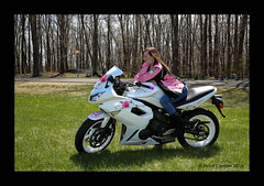 Jen's Bike Shoot (Peter Camyre) Tags: peter camyre photography motorcycle kawasaki girl lady female bike rider photoshoot quabbin reservior beautiful picture pictures biker bikers saturday may 5 2018 canon 5d mkiii