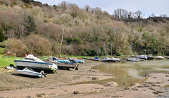 Forder Lake, Saltash, Cornwall (Baz Richardson (now away until 26 Oct)) Tags: cornwall saltash forderlake creeks yachts smallboats
