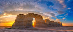 Kansas Gold (Darren White Photography) Tags: kansas landscapes kansaslandscapes panorama clouds darrenwhitephotography