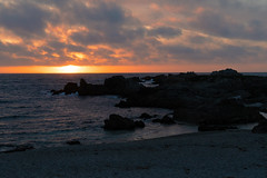 Another Sunset (charlottes flowers) Tags: sunset pacificgrove montereybaycoast ocean rocks seashore