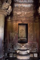 Interior of the Lakshama Temple S24A8566 (grebberg) Tags: madhyapradesh khajuraho kamasutra temple westerngroupoftemples chandeladynasty chandela hinduism india march 2018 lakshmanatemple lakshmana lordshiva shiva