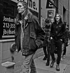 The Boys Are Back in Town (tacosnachosburritos) Tags: newyork city urban nyc street photography thestreets sexy beautiful pretty lovely milf woman girl chick lady shabby chic thelook fashion clothes clothing attire architecture buildings tenements soho neighborhood thebigapple walking gotham