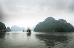 Vietnam | Ha Long Bucht 63 (Wolfgang Staudt) Tags: halongbucht halong vịnhhạlong golfvontonkin vietnam nordvietnam asien felsen inseln bucht kalksteinfelsen weltkulturerbe schiffe attraktion tourismus karstkarren