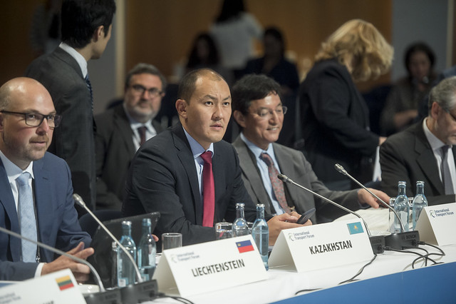 Asset Asavbaev at the Closed Ministerial session