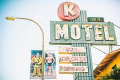 The Secret Life of Swimmers (Thomas Hawk) Tags: america california judystarkman kmotel losangeles southerncalifornia thesecretlifeofswimmers usa unitedstates unitedstatesofamerica motel neon fav10 fav25