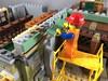 2018-114 - Siding (Steve Schar) Tags: 2018 wisconsin sunprairie iphone iphone6s project365 lego minifigure emmet build builder masterbuilder brick bricks siding wall scaffold scaffolding scaffoldingtruck lesney matchboxnumber11 matchbox