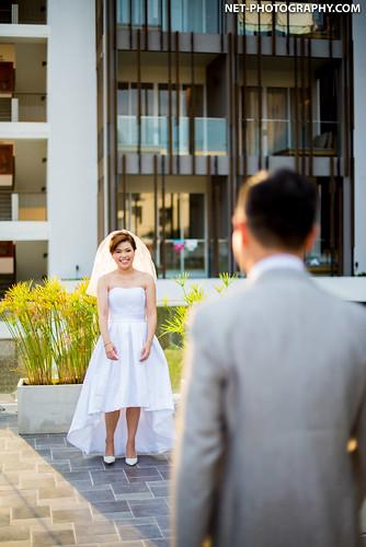 Santorini Park Cha-am Wedding Photography | NET-Photography Thailand Wedding Photographer.