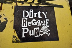 Dirty Reggae Punx, Raleigh, NC (Robby Virus) Tags: raleigh northcarolina nc sticker dirty reggae punx alexandria minnesota band music slap