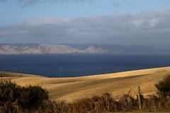 Lookout (Bert#) Tags: australia kangaroo island penneshaw lookout isle view coast line ocean blue sky nature