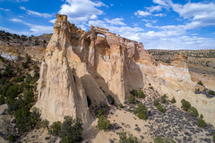 Grosvenor Arch (Bryan the Roving Vagabond) Tags: grosvenorarch utah sandstone arch grandstaircaseescalante nationalmonument landscape hiking explore dji sky southernutah publiclands usa southwest nationalgeographicmagazine nationalgeographic