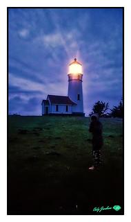 CAPE-BLANCO-LIGHTHOUSE-FIZZY-BLUE-HOUR-white-frame-black-stroke-415WX700H-2018-original-copy