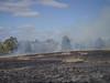 Controlled burn of grasslands - 6 - Barton - ACT - Australia - 20180428 @ 11:34 (MomentsForZen) Tags: barton australiancapitalterritory australia au momentsforzen mfz hasselblad x1d stmarksntc stmarks stmarksnationaltheologicalcenter accc australiancenterforchristianityandculture controlledburn grasslands grassfire fire bushfire flames smoke wind