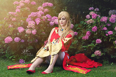 Fotocon 2017: Luce Cosplay as Lyse from Final Fantasy XIV, by SpirosK photography (SpirosK photography) Tags: finalfantasy finalfantasyseries finalfantasyxiv cosplay finalfantasycosplay fotocon fotoconbytechland fotocon2017 fotoconbytechland2017 portrait red lucecosplay dancer lyse game videogamecharacter videogame